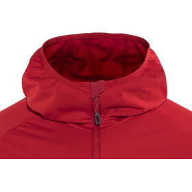 Mammut Kento Light SO Hooded Jacket Herren magma-dark magma